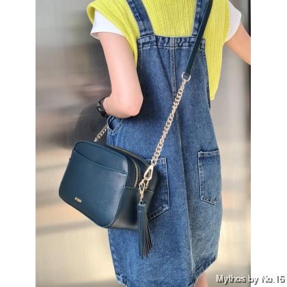 Adeline Camera Bag - Teal Blue